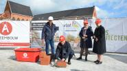 Vlot! legt eerste steen van nieuwe eerstegraadsschool Creo