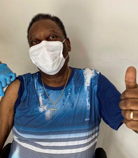 """Pelé a été vacciné: """"Un jour inoubliable"""""""