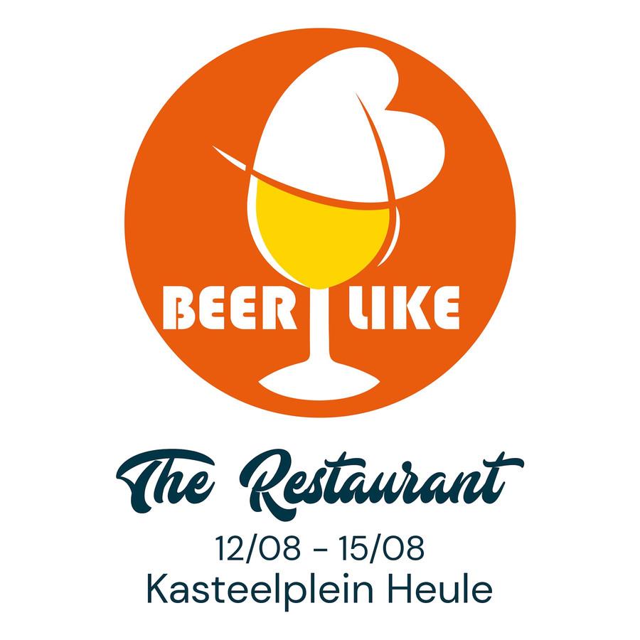 Het logo van The Restaurant dat binnenkort opent op het indrukwekkende plein aan het kasteel van Heule.
