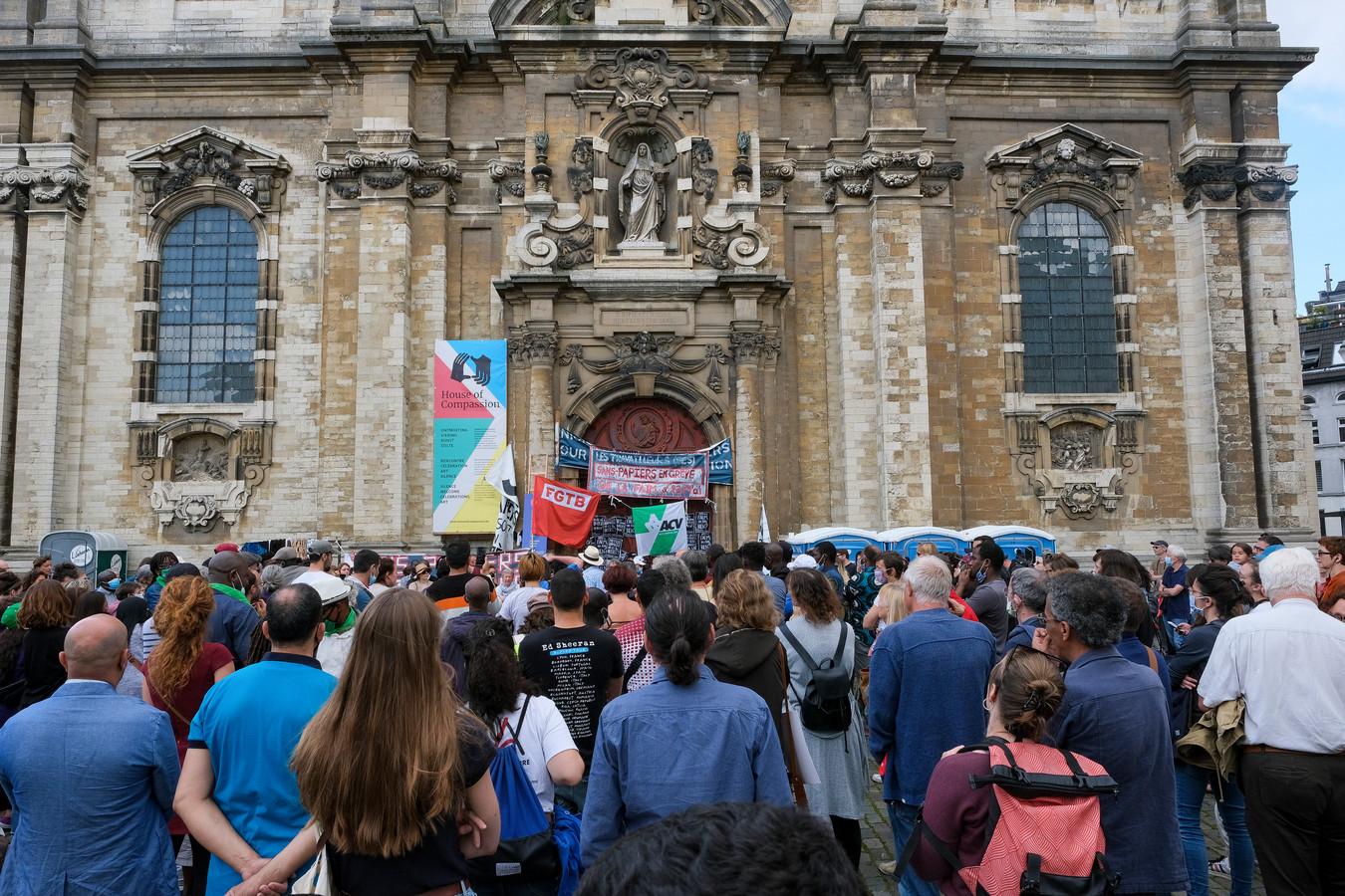 actie aan Begijnhofkerk