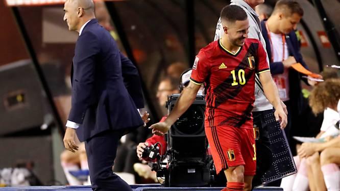 """Roberto Martinez: """"Ce but montre qu'Eden est vraiment de retour"""""""