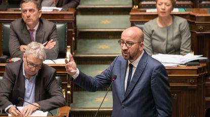 """Premier Michel """"gechoqueerd"""": zonder regering in lopende zaken had Francken """"waarschijnlijk ontslag moeten nemen"""""""