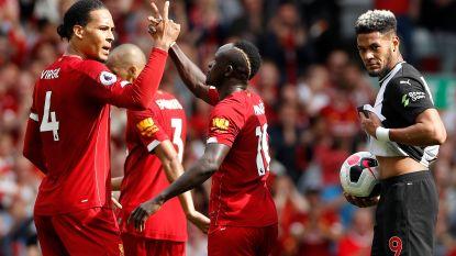 Liverpool zet scheve situatie recht tegen Newcastle dankzij goals Mané en Salah, Origi valt geblesseerd uit