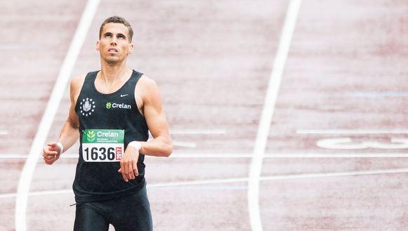 Kevin Borlée was met een tijd van 45.88 de snelste.