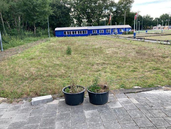 Het nieuwe onderkomen van de Twentse Kynologen Vereniging aan de Geessinkweg. Na 20 jaar zwerven heeft de TKV een eigen stek.