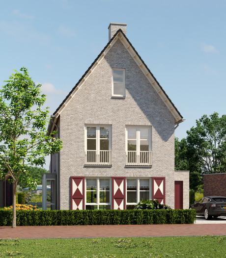Kopers nieuwe huizen Hoog Dalem vieren samen met ontwikkelaars start van bouw