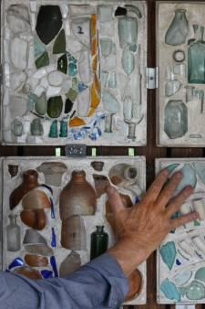 Culemborgse Joost Váhl (80) exposeert kunstige mozaïeken van vondsten