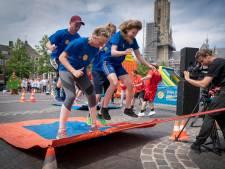 Grenzen vieren met Spel Zonder Grenzen op Arnhemse Markt