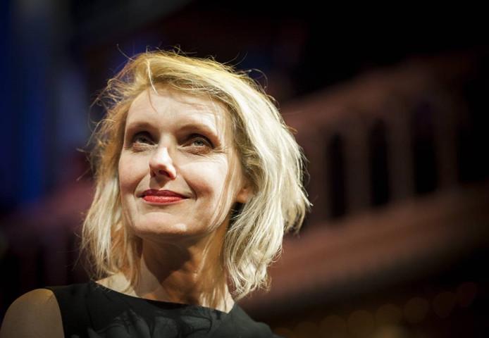 Anne Vegter, jurylid voor de Dichter des Achterhoeks. Foto Remko de Waal/ANP