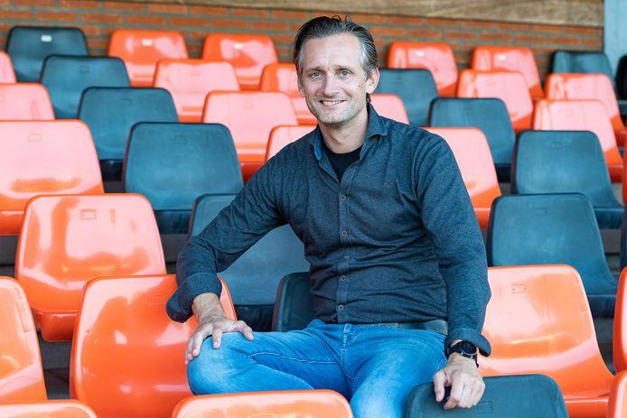 """Arend Jan Veurink wordt de nieuwe voorzitter van HHC Hardenberg. ,,Voor nu hoop ik vooral dat we lekker kunnen blijven voetballen."""""""