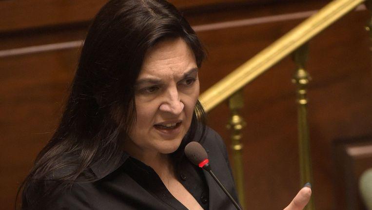 Minister van Energie Marie-Christine Marghem.