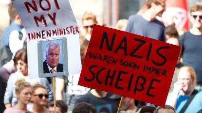 Opstootjes bij Duitse demonstraties door extreemrechts en door tegenstanders