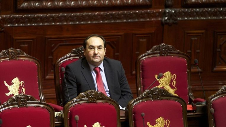 Ahmed Laaouej van de PS. Beeld BELGA