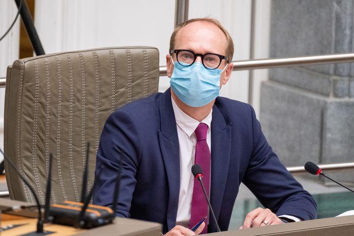 Vlaams minister van Onderwijs Ben Weyts (N-VA).