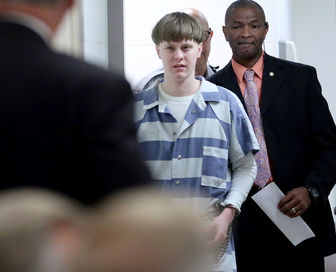 De jonge massamoordenaar Dylann Roof.