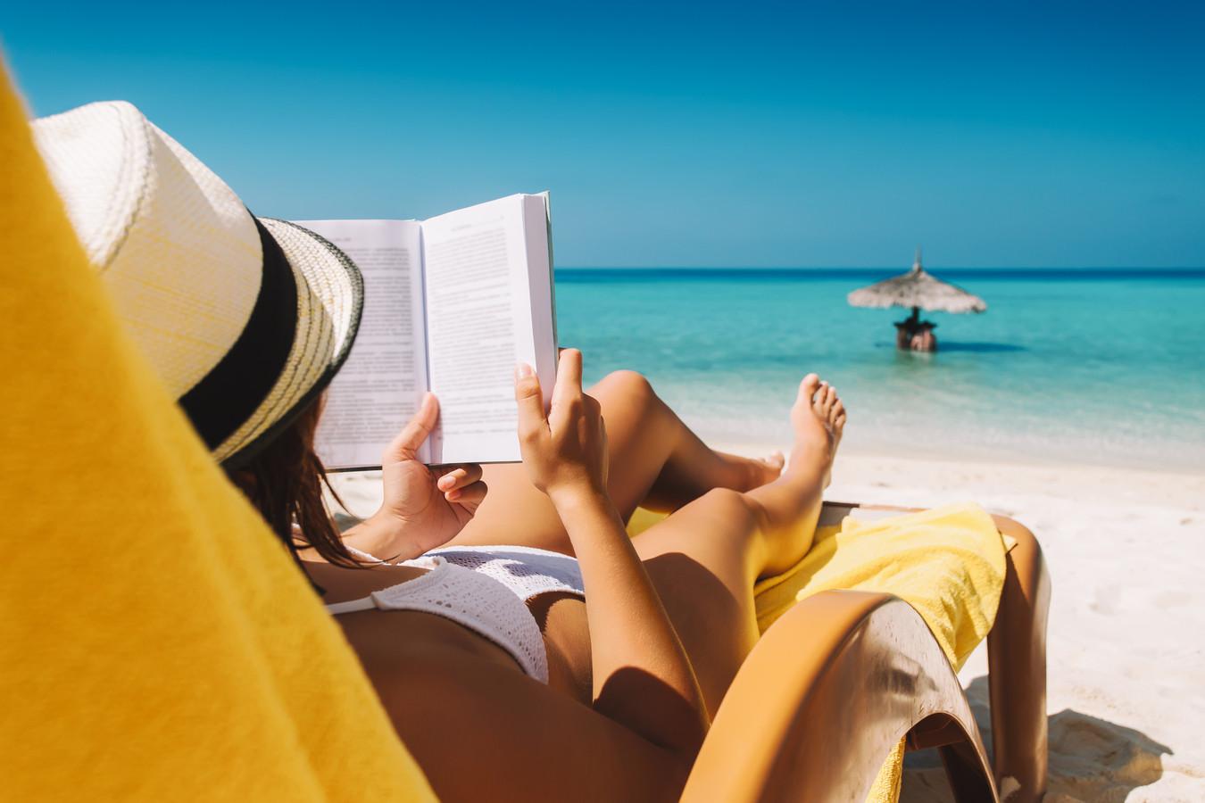 Lezen op vakantie.