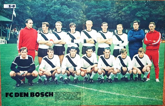 Selectie FC Den Bosch 1970-'71.