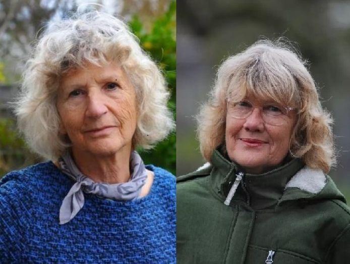 Riet Beukert (links) en Marianne Golsteijn.
