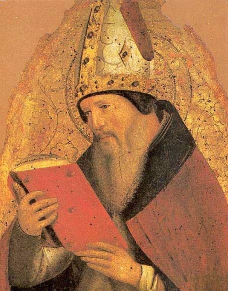 Kerkvader Augustinus van Hippo Beeld .