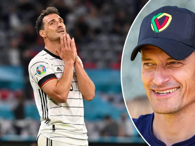 """KVO-coach Alexander Blessin geeft Duitsland geen schijn van kans: """"Ik heb geroepen naar mijn tv"""""""