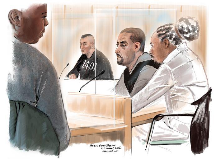 De strafzaak draait om de mishandeling van motorclublid Clement H. tijdens de begrafenis van een vooraanstaand clublid.