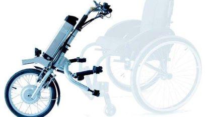Dieven gaan met elektrische handbike van verlamde man aan de haal