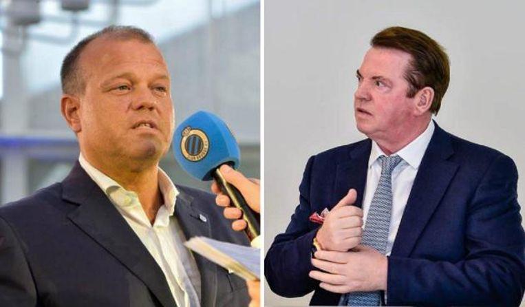 Bart Verhaeghe versus Paul Gheysens. Beeld photo_news