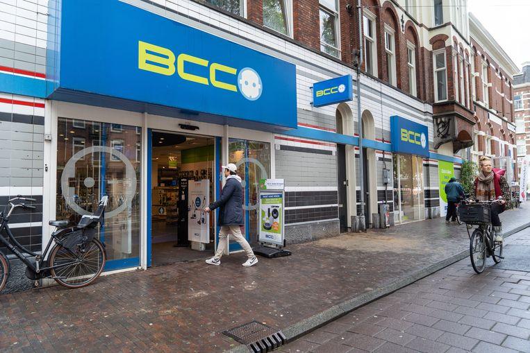 BCC-filiaal aan de Bilderdijkstraat in Amsterdam. Beeld Birgit Bijl