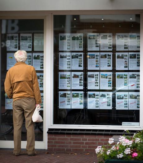 Woningverkoop stagneert het meest in Hardenberg en Apeldoorn