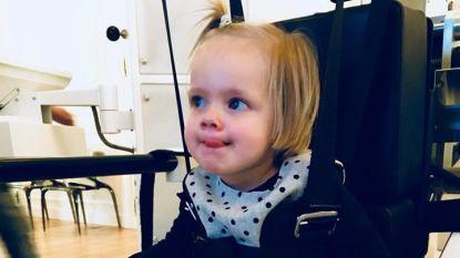 """Cipier stapt 100 km voor meisje met beperking: """"Collette (2) wacht me op aan finish Dodentocht"""""""