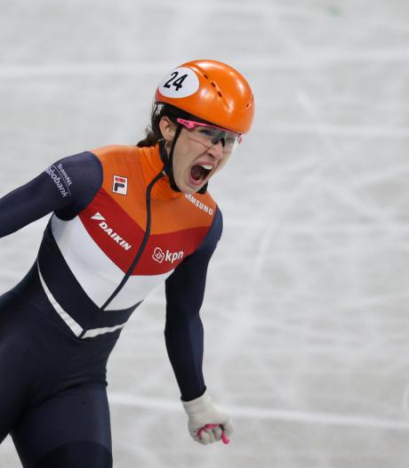 Fabuleuze Schulting ook overall wereldkampioene