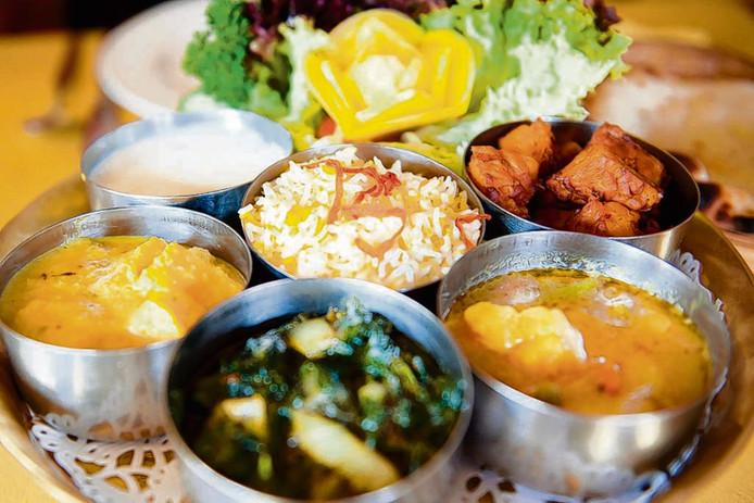 Vegetarisch eten. Foto ter illustratie.
