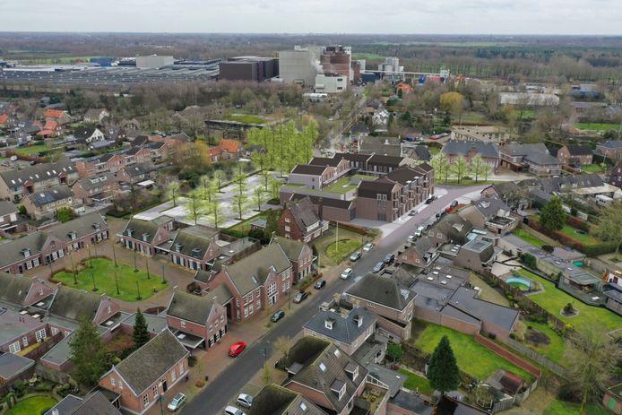 Een impressie van het voorlopig concept voor de Heuvel in Lieshout.