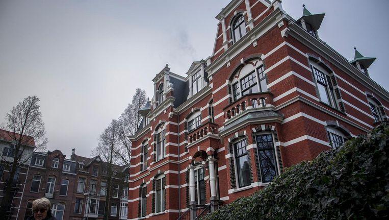 Dit pand in de Van Eeghenstraat in Amsterdam-Zuid staat nu te koop voor bijna 19 miljoen euro Beeld Rink Hof