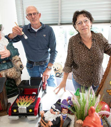250 kabouters wachten in Vroomshoop op verhuizing naar 'een van de mooiste kabouterpaden van Nederland'