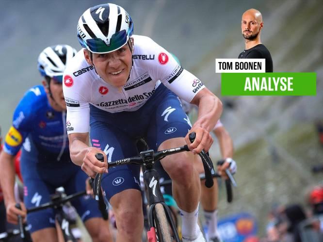 """""""Op basis van wat ik nu gezien heb, verwacht ik niet dat Remco er verder in de Giro nog helemaal door zal zakken"""""""