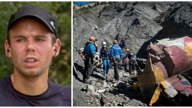 Andreas Lubitz zou het vliegtuig van de Duitse lagekostenmaatschappij Germanwings bewust hebben laten crashen in de Alpen. 149 mensen kwamen om het leven. Beeld Reuters & AFP