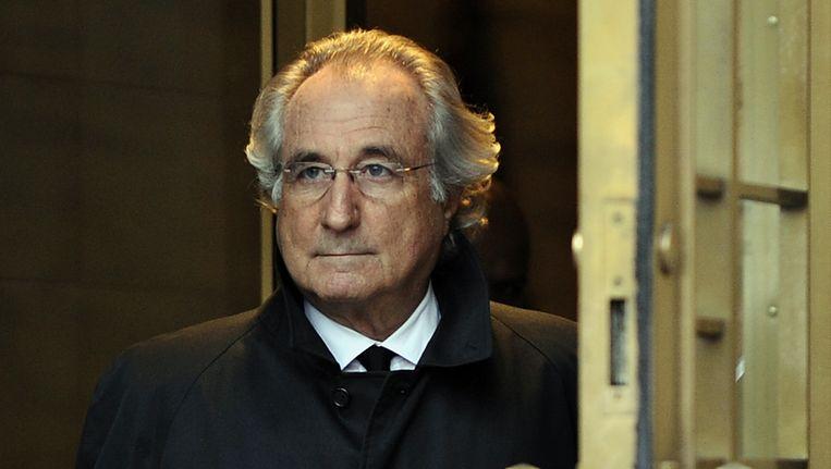 Bernard Madoff Beeld AFP