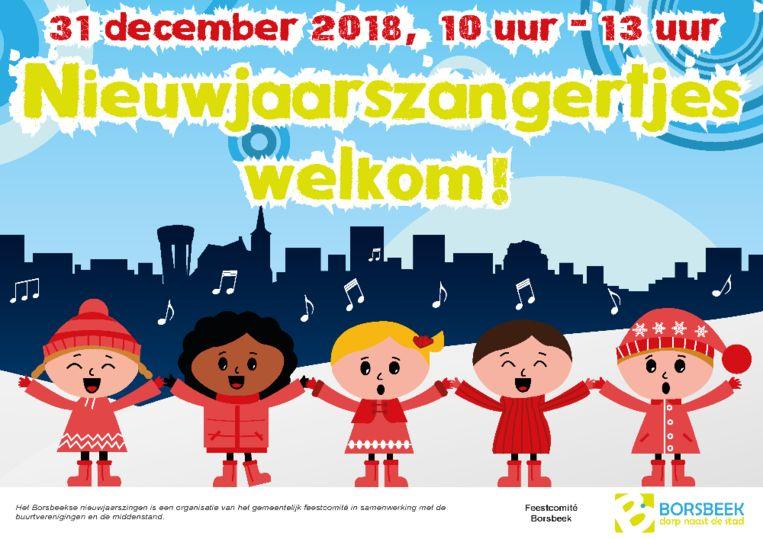 Hang deze affiche voor je raam zodat de kinderen weten dat je graag wil luisteren naar hun liedjes.