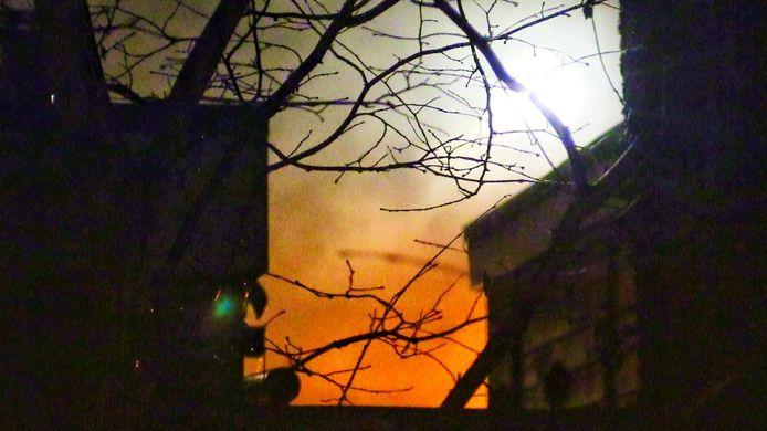 De brand in Enschede.