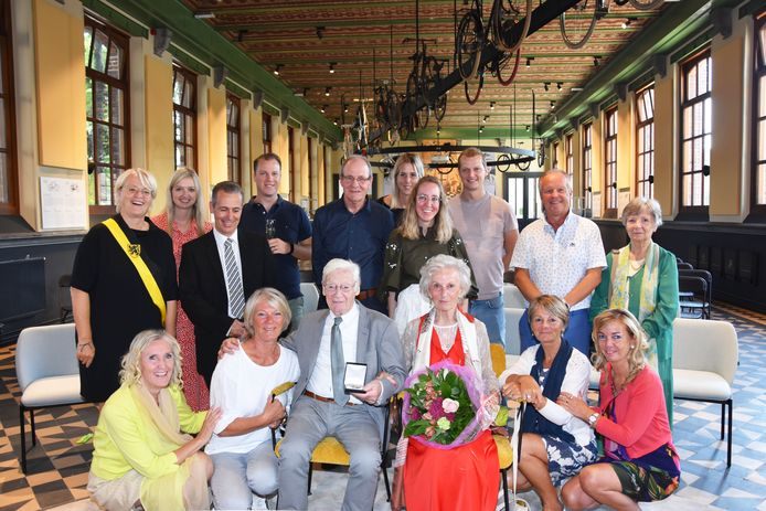 Jozef Decorte en Rose Leuridan zijn 65 jaar gehuwd en werden ontvangen in KOERS.