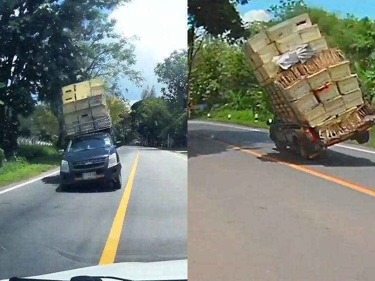 Vrouw kan nipt bestuurder ontwijken die op haar af rijdt
