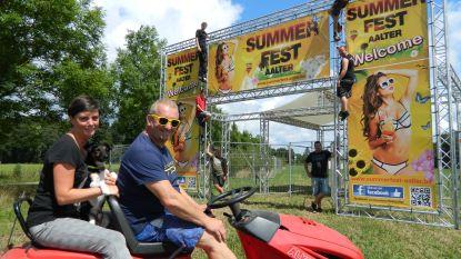 Summerfest Aalter in het nieuw: voor het eerst drie podia, foodmarkt, beachtent en eigen kapsalon