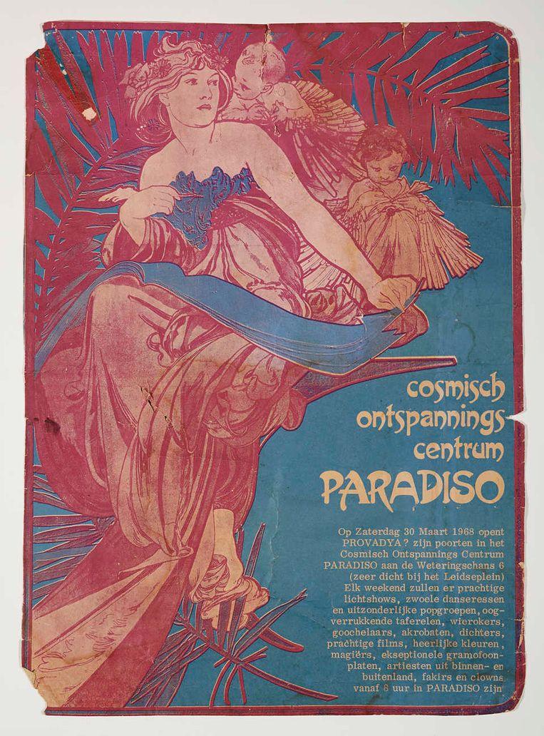 Affiche Paradiso. Beeld