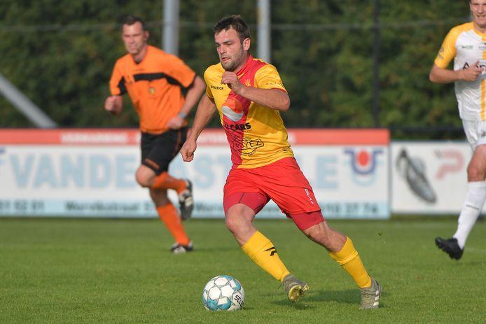 Kenzie Vandeputte speelde vier jaar voor Sparta Heestert, maar ontbreekt zaterdagavond.