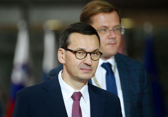 De Poolse premier Mateusz Morawiecki.