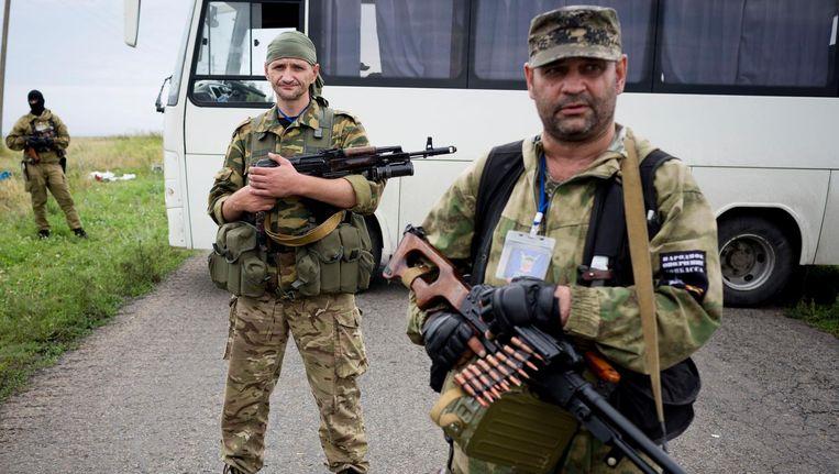 Pro-Russische rebellen in het oosten van Oekraïne Beeld anp
