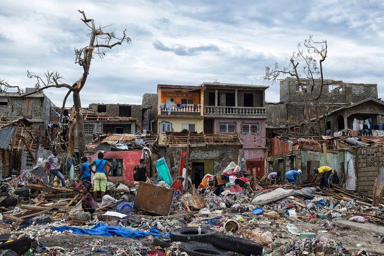 Het dorp Jeremie in Haïti. Beeld AFP