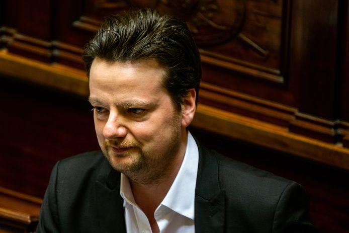 François De Smet, président de DéFI.