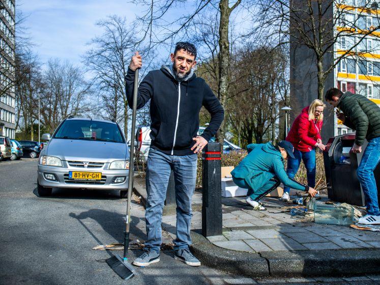 Hassan is de rotzooi zat: 'Dit is de smerigste straat van Overvecht'